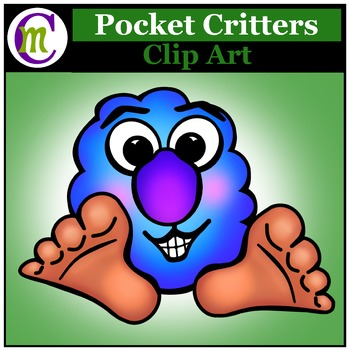 Clipart ♦ Pocket Critter FREEBIE