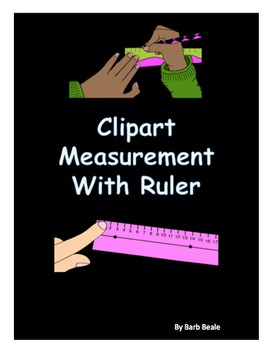 Clipart - Measuring With A Ruler - 16 files