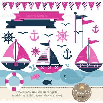 Nautical Sailing Clipart