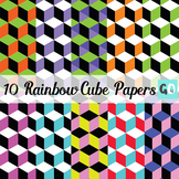 Rainbow Cube Papers