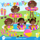 Clipart,Pool Party MEGA PACK!, Party Clipart, Digital Down