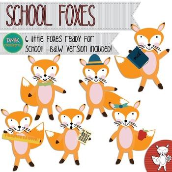 Clipart- School- Fox
