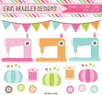Clipart - Sewing Graphics