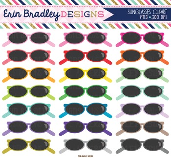 Clipart - Sunglasses