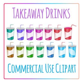 Clipart: Takeaway Soft Drink Soda Pop Clip Art
