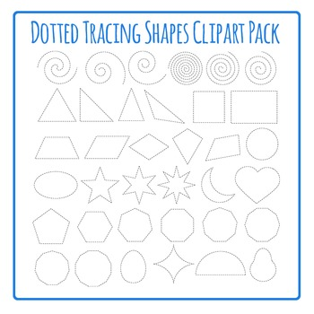 Tracing Shapes for Fine Motor Control or Cutting Shapes