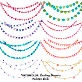 Watercolor Banner Clipart