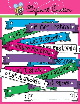 Clipart: Winter Banners