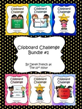 Clipboard Challenge - Bundle #1