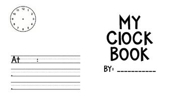 Clock Booklet Template
