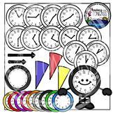 Clock Clipart Bundle