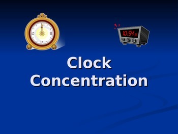 Clock Concentration