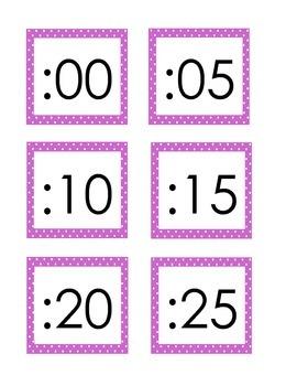 Clock Display Times