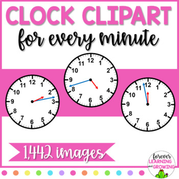 Clock Faces for Every Minute