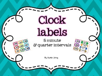 Clock Labels {Freebie!}