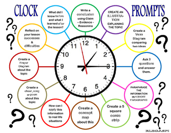 Clock prompts for differentiation
