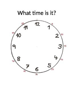 Clock- what time is it?