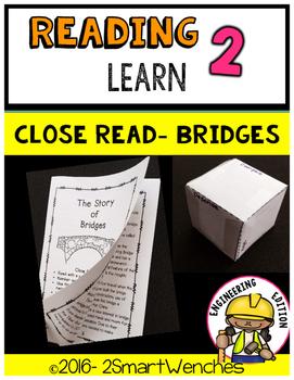 Close Read- Bridges with STEM activity