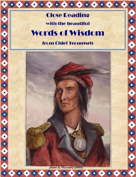 Poetry of Important Native American: Chief Tecumseh's Word