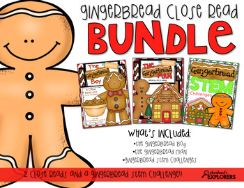 Close Read: Gingerbread BUNDLE