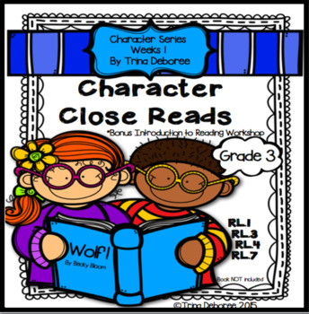 Character Unit for Second and Third Grade {Wolf!}