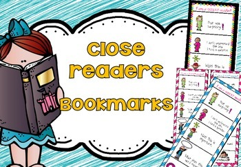 Close Reading: Coding Bookmarks