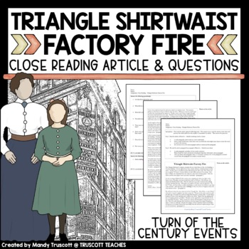 Close Reading Article: Triangle Shirtwaist Factory Fire
