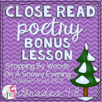 Close Reading Bonus Lesson