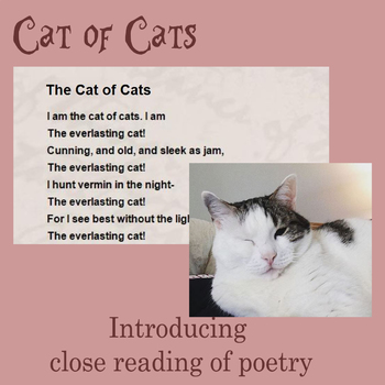 Close Reading: Cat of Cats