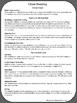 Close Reading Cheat Sheet