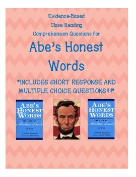Close Reading Comprehension:  Abe's Honest Words