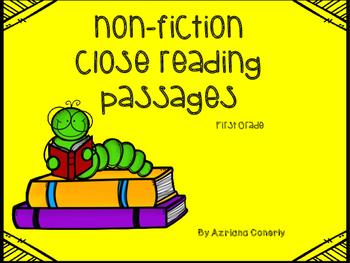 Close Reading FREEBIE