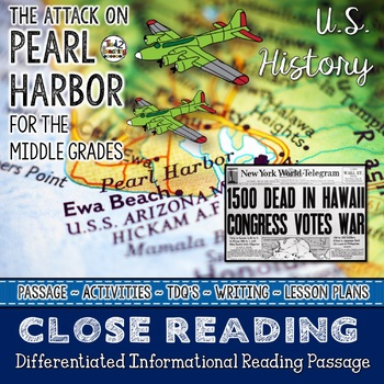 Close Reading (For the Middle Grades) - THE ATTACK ON PEAR
