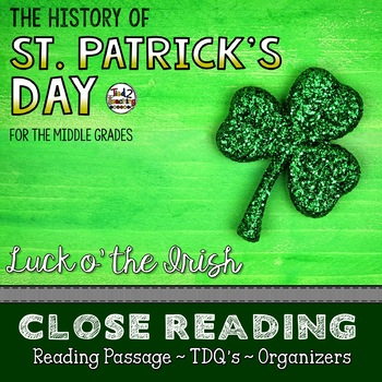 Close Reading (For the Middle Grades) - THE HISTORY OF ST.