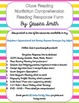 Close Reading Form: A Response Page for Nonfiction Reading