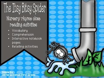 Close Reading - Itsy Bitsy Spider - Nursery Rhyme - Beginn
