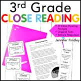Close Reading Mega Kit {3rd Grade Common Core}