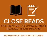 Close Reading: Mentors