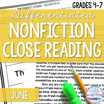 Close Reading - June