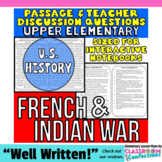French and Indian War: Non-Fiction Reading Passage