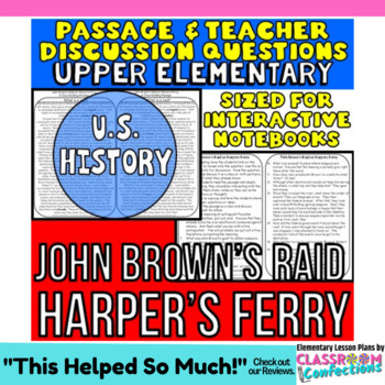 John Brown's Raid on Harpers Ferry: Non-Fiction Reading Passage