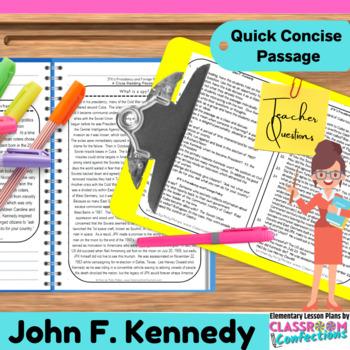 John F. Kennedy (JFK): Reading Passage