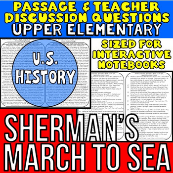 Sherman's March: Non-Fiction Reading Passage