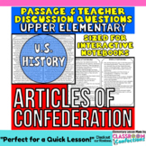 Articles of Confederation: Non-Fiction Reading Passage