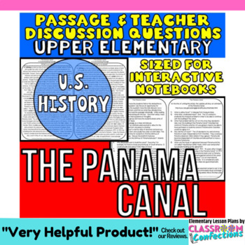 The Panama Canal: Non-Fiction Reading Passage