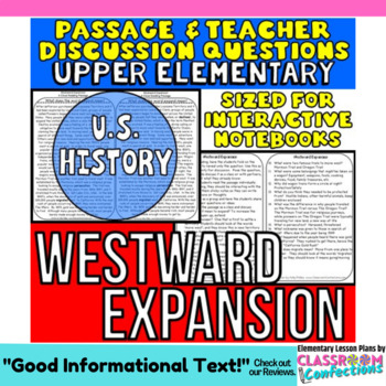 Westward Expansion: Non-Fiction Reading Passage