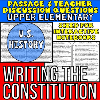 Writing the Constitution: Non-Fiction Reading Passage