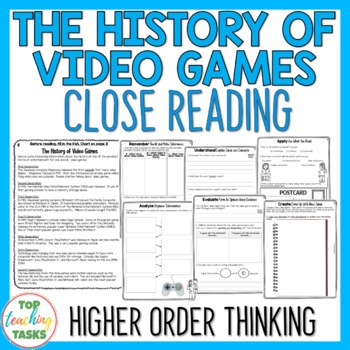 Close Reading Passage with Text Dependent Questions - The
