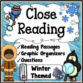 Winter Activities {Winter Close Reading Passages, Question