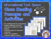 Close Reading Passages - Space